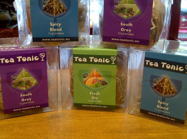 Tea Tonic, un Gintonic diferente